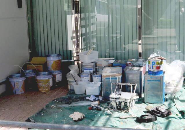 大規模修繕の天井(軒天)塗装工事の流れと塗料の種類