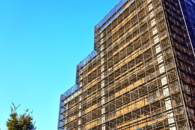 大規模修繕に伴う外壁補修工事の工事内容